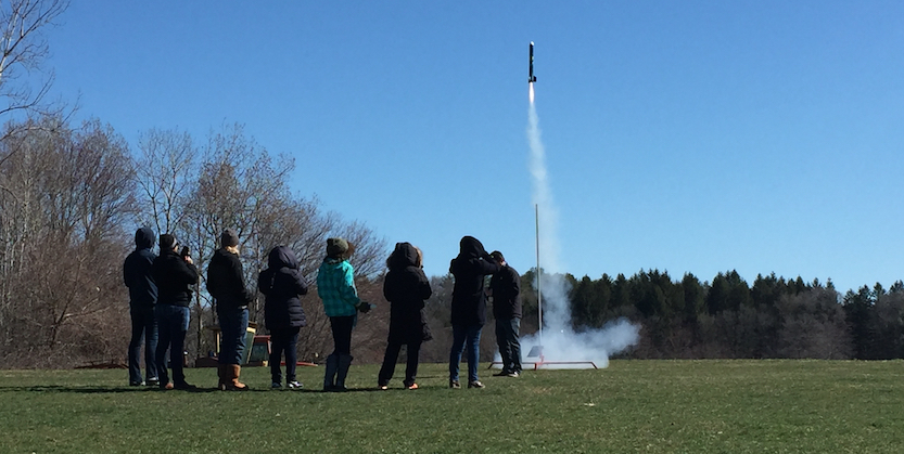 It is Rocket Science: Launch with the Science Club for Girls Rocket Team!