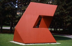 Tony Smith in Red: The Science of Choosing the Right Paint for Outdoor Sculpture