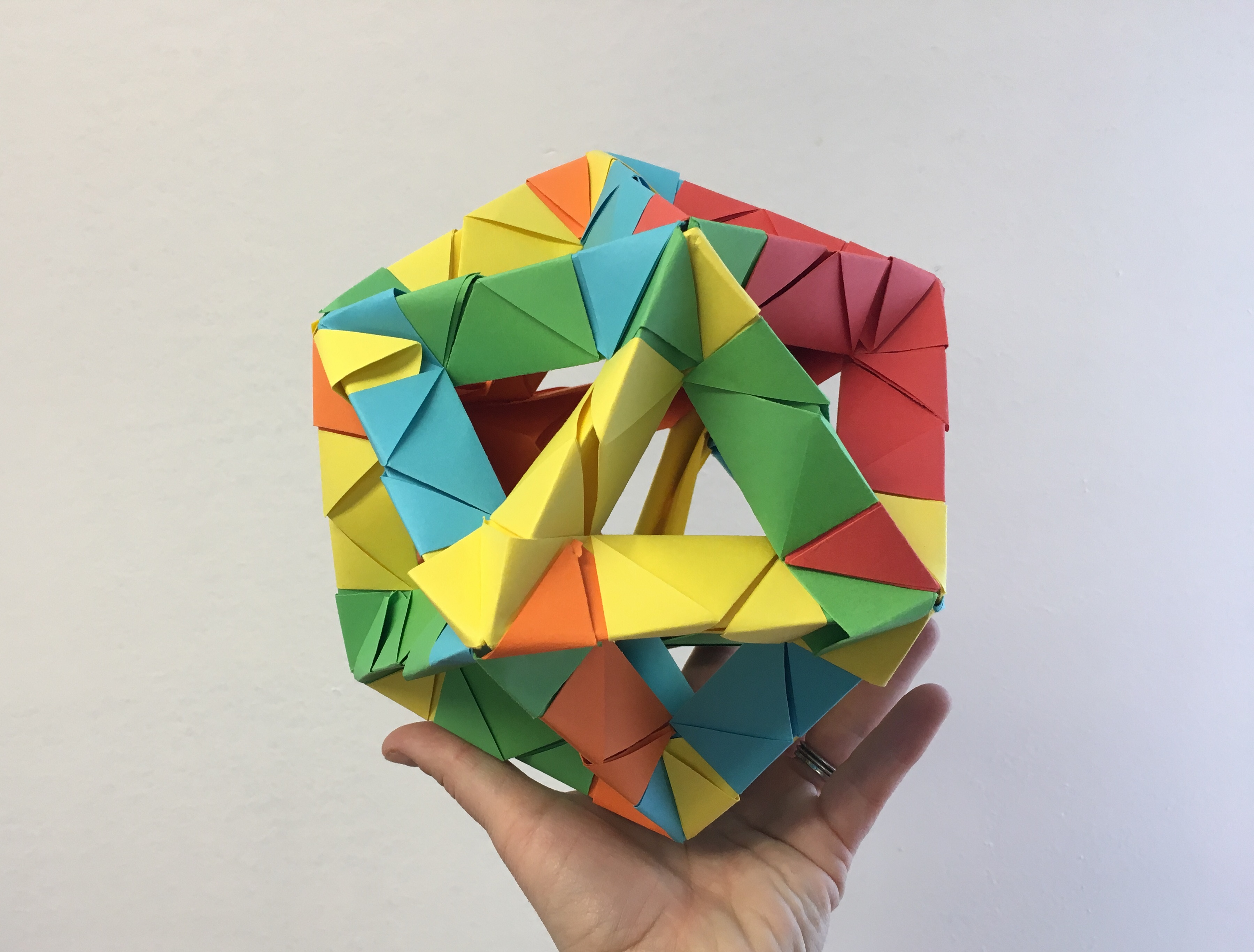 In This Family Friendly Workshop Learn How To Use Traditional Paper Folding Techniques Create Intricate Icosahedra And Other Geometric Structures