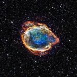 G299.2-2.9: Exploded Star Blooms Like a Cosmic Flower