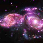 NGC 2207 and IC 2163: Galactic Get-Together has Impressive Light Display