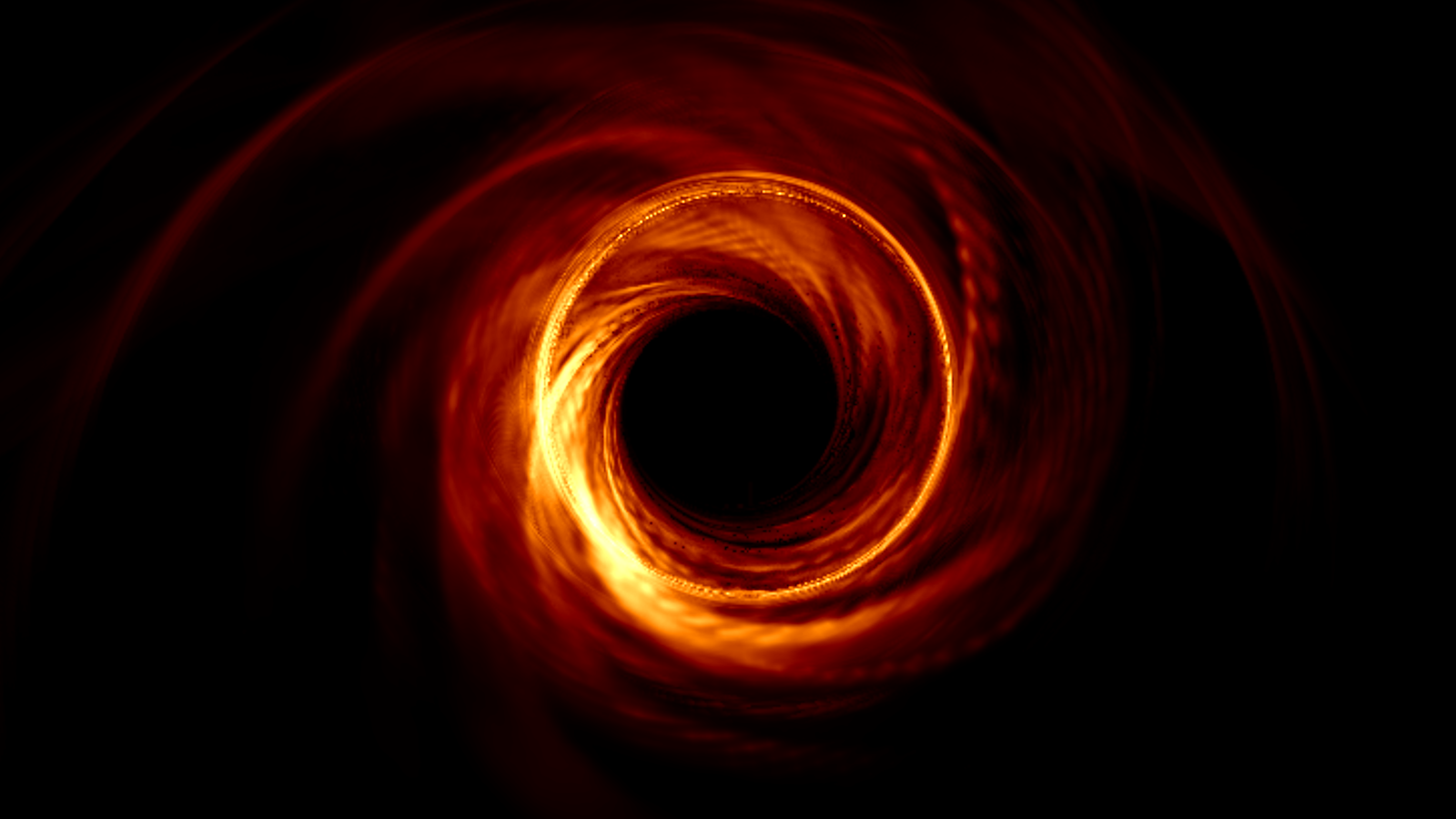 event horizon black hole picture