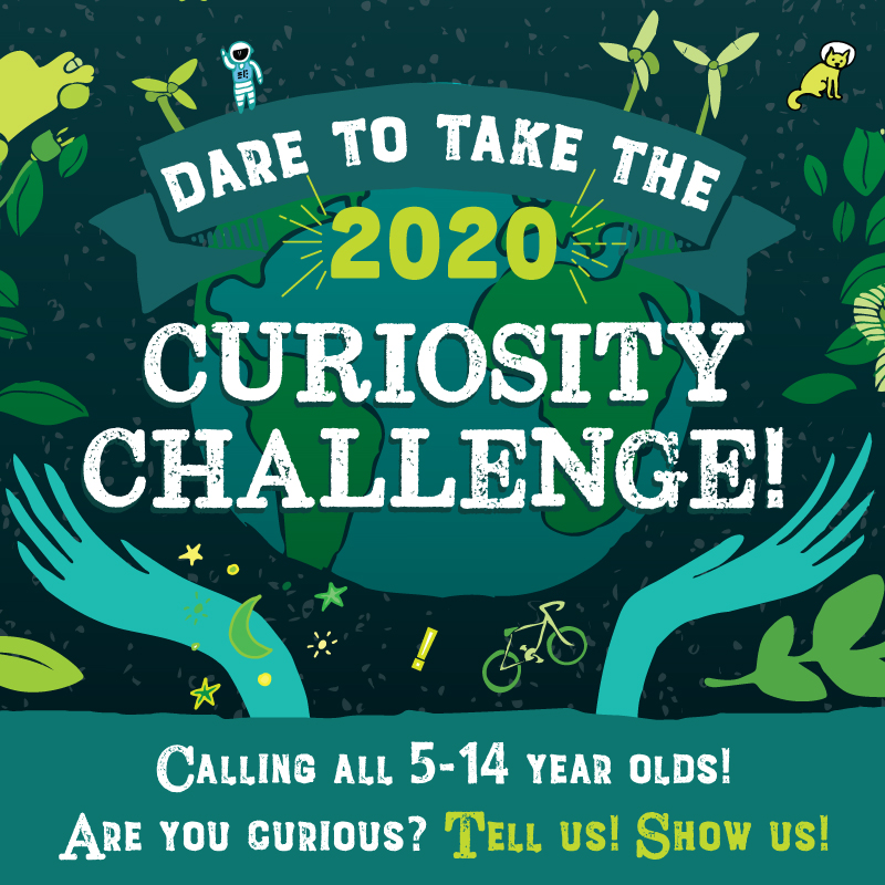 Dare to take the 2020 Curiosity Challenge